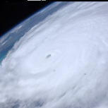 Hurricane Irene picure by NASA