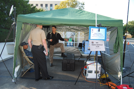NIHRAC EmComm demonstration at WRNNMC - 2012 Bethesda, MD