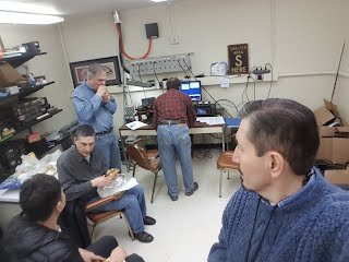 NIHRAC and RARC members during NAQP RTTY contest